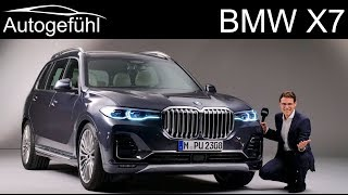 BMW X7 REVIEW Exterior Interior all-new 7-seater SUV