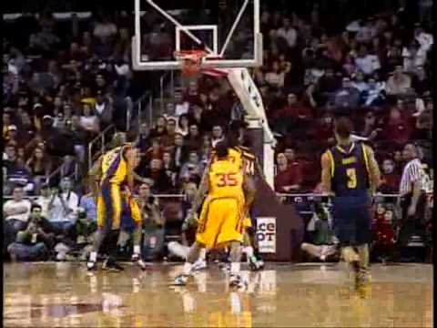 Cal Bears vs USC Trojans Basketball Highlights..2009 Video