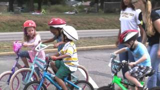 Softball - Bike Day at Sequoyah Elementary
