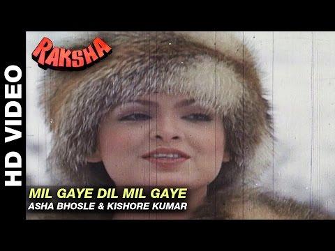 Mil Gaye Dil Mil Gaye - Raksha   Asha Bhosle & Kishore Kumar   Jeetendra & Parveen Babi
