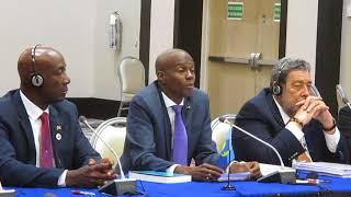 Haiti-Caricom : President Jovenel Moise, Declaration Finale