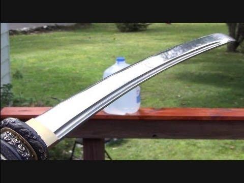 Samurai Wakizashi. Handmade Sword Company