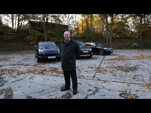 BMW X5 vs Porsche Cayenne vs Range Rover Sport video 4 of 4