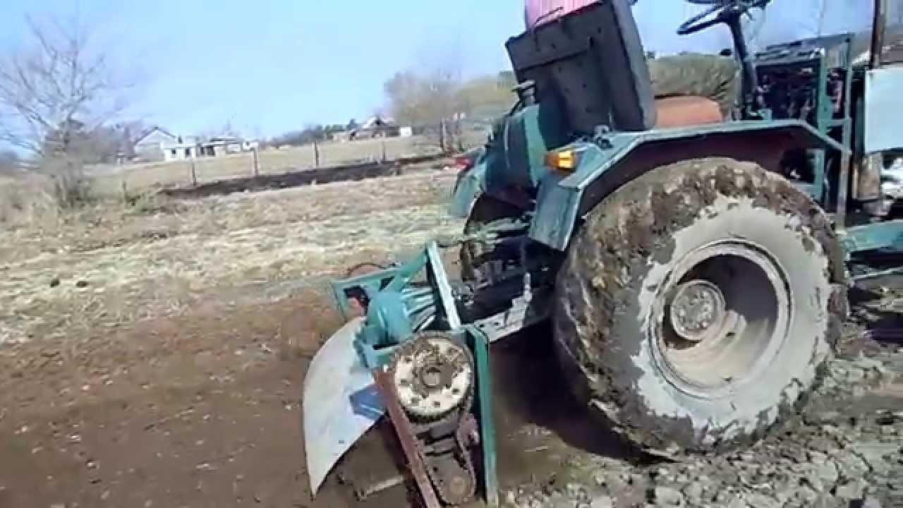 Как сделать фрезу для трактора своими руками