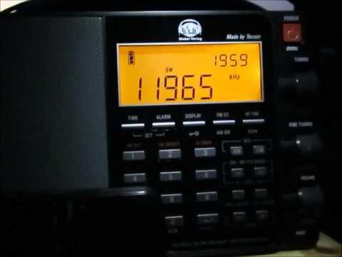 11965 Khz NHK World Radio Japan, Ibaragi- Koga- Yamata