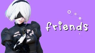 【MMD】2B FRIENDS 【NieR:Automata】