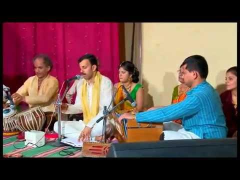 Marathi Bhajans- Santosh Kadle With Tablist Shri Manoj Acharya And Shri Nityanand Bhat Part 4 video