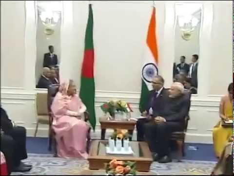 Bangladesh PM, Sheikh Hasina meets PM Modi in New York