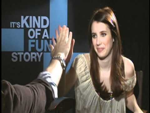 IT'S KIND OF A FUNNY STORY Interviews with Zach Galifianakis, Emma Roberts and Keir Gilchrist