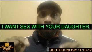 I Want, Sex With Your Daughter