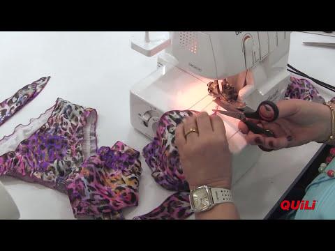 DIY - Cómo hacer un traje de baño - How-to make a swimsuit by María Fernanda