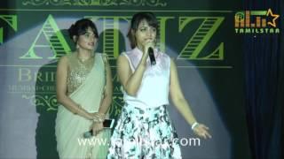 Actress Ramya Nambeesan's Fatiz Bridal Emporio Launch And Fashion Show