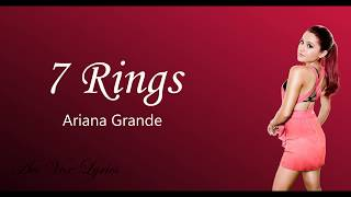 Ariana Grande – 7 rings Lyrics - Avi Vox