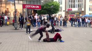 African Street Dance in Germany(Essen)
