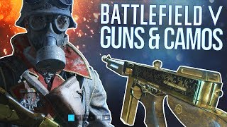 Battlefield V: All Guns, Camos, & Outfits