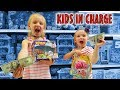 KIDS IN CHARGE! 24 Hour Parents Can't Say No Challenge!