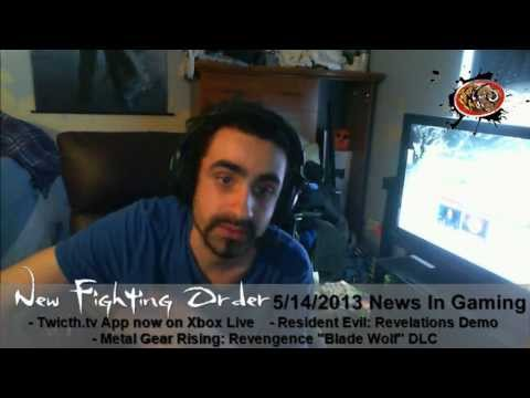 NFO Mugen With A Quick Gaming News Update 5/14/2013