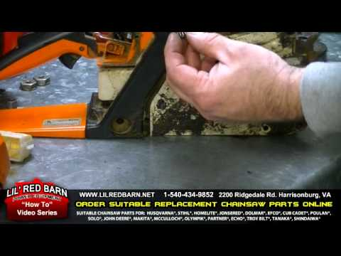How to Replace the Sprocekt on a Stihl 021 023 025 Chainsaw