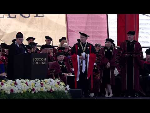 Boston College 2015 Commencement