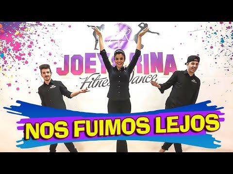 NOS FUIMOS LEJOS Coreografìa Joey&Rina || TUTORIAL || Balli di Gruppo 2018 Line Dance