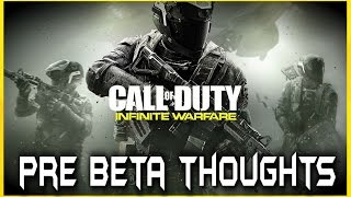 INFINITE WARFARE PRE BETA Thoughts! Early Access Review! MW3 MERGE with BLACK OPS 3! What is OP? COD