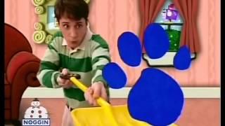 Blues Clues paw print screen whipes season 1