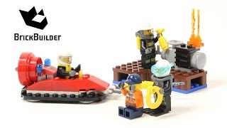 Lego City 60106 Fire Starter Set - Lego Speed Build