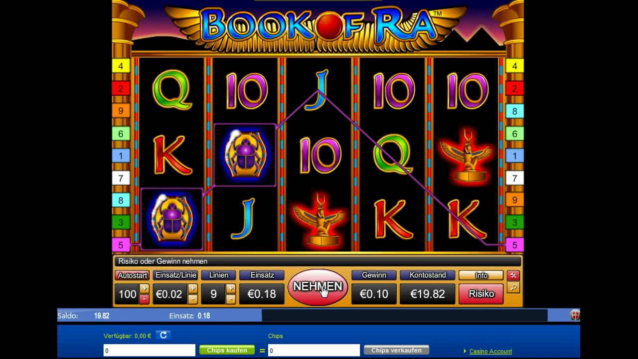 casino online spielen book of ra  automat