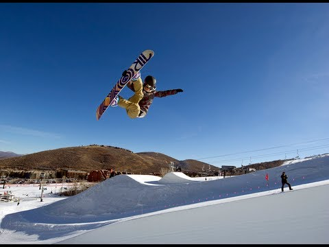 Snowboard freestyle tricks