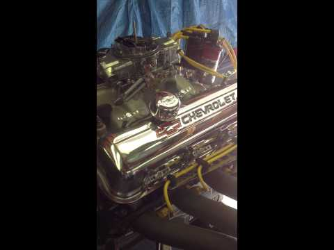 Chevy 454 Big Block Start up