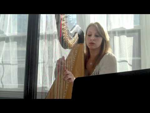 Pachelbel's Canon in D on Harp HD Music Videos