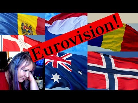Watching Eurovision videos with my daughter. Eurovision 2018. Semi final 2. Part 1.