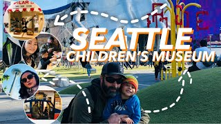 Children's Museum in Seattle | Indoor/outdoor play| Mariah Knight| Pinay Life in USA | vlog#7