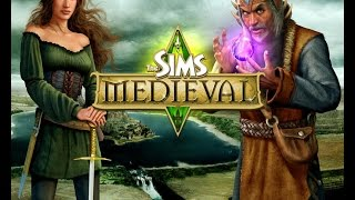 "Let""S play The Sims Medieval #1 новый король"