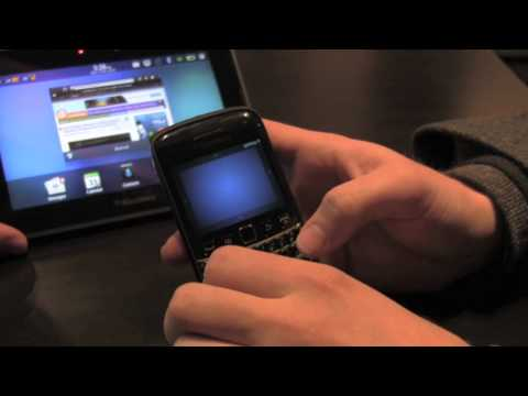 Using your BlackBerry Smarphone as a remote control for the BlackBerry PlayBook on PlayBook OS 2