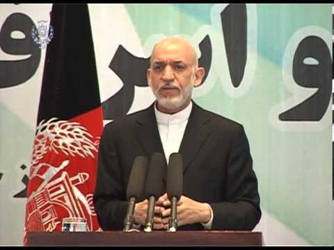 President Karzai's speech on World Environment Day