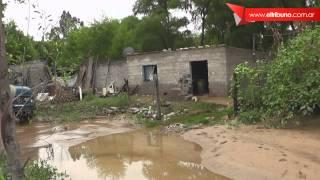 Ríos desbordados dejan viviendas inundadas