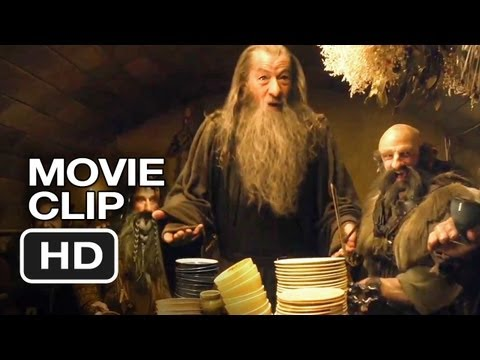 The Hobbit: An Unexpected Journey DVD CLIP - Bilbo Baggins Hates (2012) - Peter Jackson Movie HD