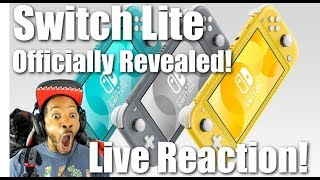 Nintendo Switch Lite Officially Revealed | Live Reaction