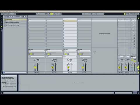 How To DJ In Ableton Live Part 1: Setting Up Ableton And Preparing The Songs (Part 1 of 2)