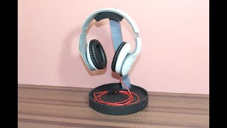 How to make DIY headphone stand from cardboard