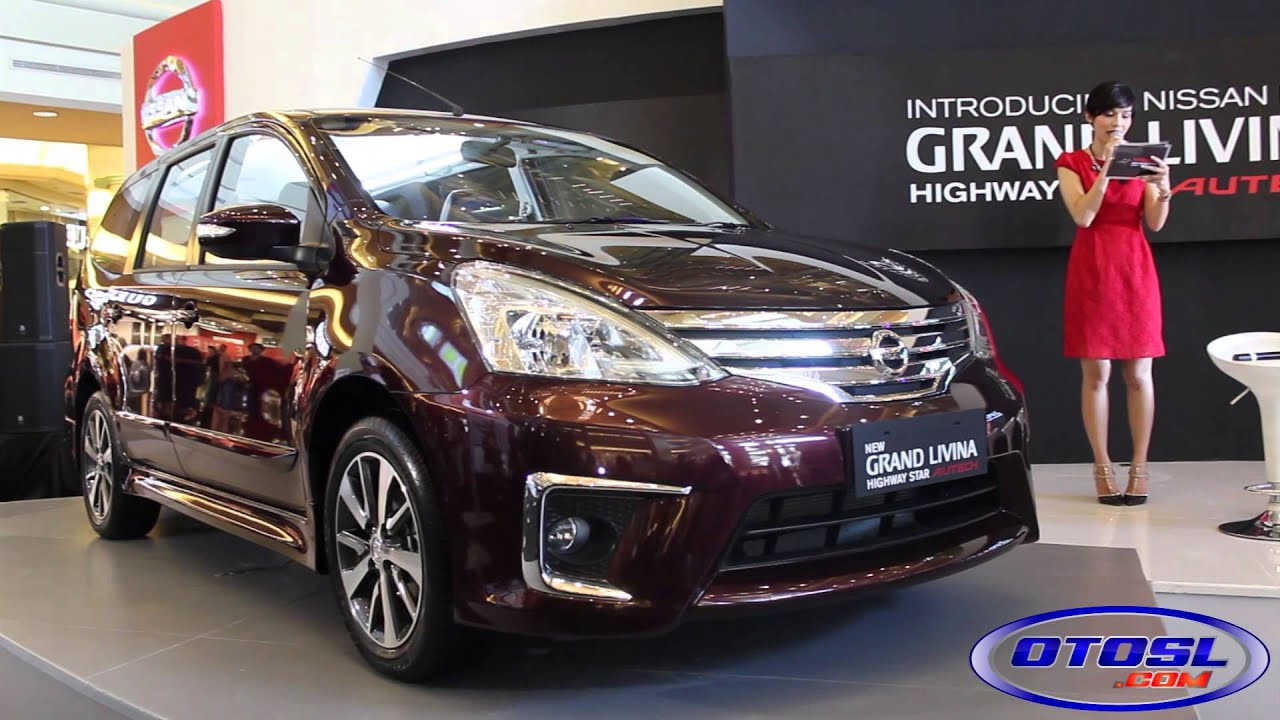 Launching Nissan New Grand Livina Highway Star Autech - YouTube
