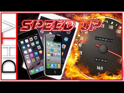 How To Speed Up A Slow iPhone. iPad or iPod Touch