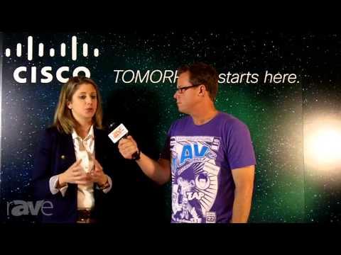 InfoComm 2013: Gary Kayye Interviews Cisco's Angie Mistretta