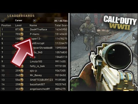 #1 vs. #2 COD WW2 PLAYERS in the WORLD! Call of Duty: WWII Multiplayer Gameplay