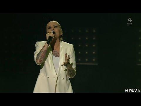 """Svala Björgvins – """"Ég veit það"""" (Live Söngvakeppnin 2017 - Semi Final 2)"""
