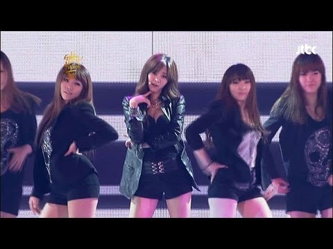 [gda golden Disk Awards] G.na - Black & White video
