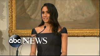 Meghan Markle gives empowering speech on feminism, women's suffrage