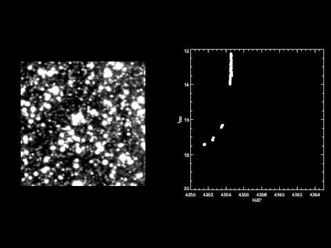 Microlensing Movie: High Magnification Event