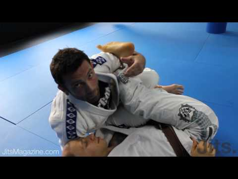Passing deep De La Riva guard - Shawn Williams PART 2 - Jits Magazine Image 1